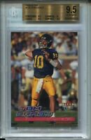 2000 Ultra Football #234 Tom Brady Rookie Card RC Graded BGS Gem Mint 9.5