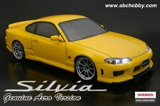ABC-Hobby Nissan Silvia S15 Genuine Aero Version Karosserie-Set 1:10 (66190)