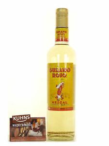 Gusano Rojo Mezcal 0,7l, alc. 38 Vol.-%, Tequila/Mezcal Mexico