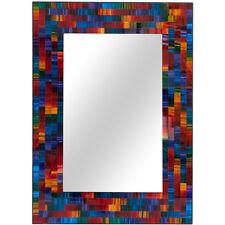 Espectro de mosaico Rectangular Espejo 40CM de alto colgante de pared decoración de casa MO_15415