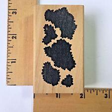Rubber Stamp - Animal Skin Print - NEW