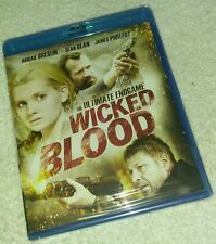 Wicked Blood Blu-ray, Region 1, Widescreen, Abigail Breslin, Sean Bean brand new
