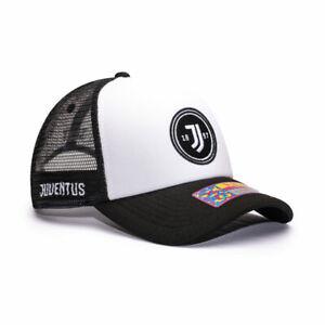 Juventus Retro Trucker Baseball Hat Fan Ink Officially Licensed