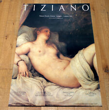 TIZIANO poster manifesto affiche Arte Italiana Palazzo Ducale venezia Art B48