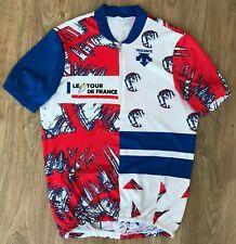 Le Tour De France Descente rare vintage cycling jersey size L