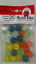 Bag Of Marbles 25 shooter Classic Marble King Cat's Eye laden city west Virginia