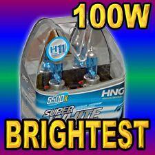 2x H11 SUPER WHITE XENON HEADLIGHT BULBS FOR FOG LIGHT