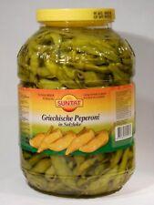 4,8KG FASS GRIECHISCHE PEPERONI 10,95€/kg MILD PIKANT SUNTAT Pepperoni eingelegt