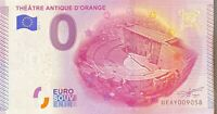 BILLET 0  EURO THEATRE ANTIQUE D'ORANGE  FRANCE 2015 NUMERO DIVERS