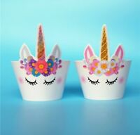 UNICORN HORSE CUPCAKE WRAPPERS/ PARTY SUPPLIES BIRTHDAY