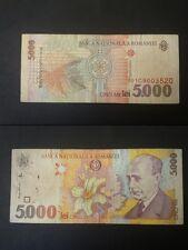 BANCONOTA ROMANIA 5000 LEI
