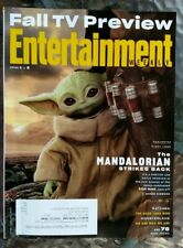 "ENTERTAINMENT WEEKLY OCTOBER 2020 ""THE MANDALORIAN BABY YODA STRIKES BACK"" -New-"