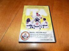 ITA TAEKWONDO WHITE / YELLOW BELT MARTIAL ARTS INSTRUCTION Training Train DVD