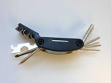 15 Function Bicycle Multi Tool Allen Key, Screwdrivers, and Spanners
