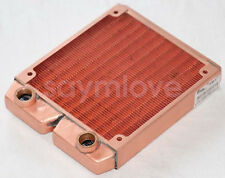Water Cooling Radiator 120mm Whole pure Copper G1/4 for PC Linquid Water Cooling