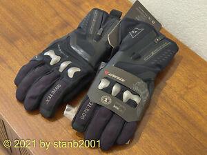 New Dainese X-Travel GORE-TEX® Gloves Black/Black Large YKK Zippers - Never Worn