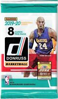 1-2019-20 PANINI DONRUSS BASKETBALL R/C AUTO / AUTO HOT PACK WILLIAMSON,MORANT?