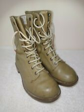 Khaki  Army Boots Size 4 Mens 6 Womens
