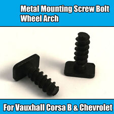 1x Metal Bolts For Vauxhall Mounting Screw Bolt Wheel Arch Corsa B Chevrolet