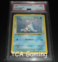 PSA 9 MINT Seel 41/102 1ST EDITION Base Set SHADOWLESS Pokemon Card