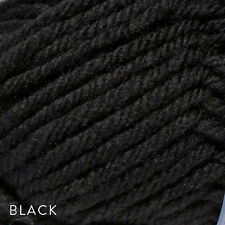 50g Balls - Cleckheaton Chunky Country Wide - Black #0001 - $5.25 A Bargain