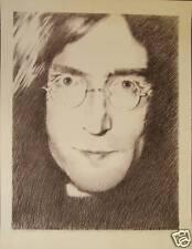 John Lennon Ltd ed Poster Print, Stanley Mouse, signed