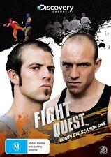 Fight Quest : Season 1 (DVD, 2011, 4-Disc Set) - inc Round1 & Round 2
