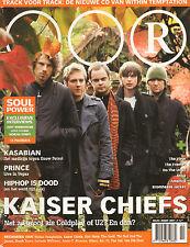 MAGAZINE OOR 2007 nr. 02 - KAISER CHIEFS/AMY WINEHOUSE/WITHIN TEMPTATION/FRAMES