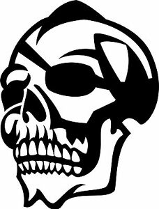Skull Sticker210 x 160 great stickers made from Marine grade material.