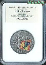 Poland 2004 silver 10 zl 100th Anniversary of Fine Arts Academy PR70