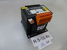 Roller & Fischer E 250, 400V 0,63A Einphasen-Steuer-Trenn-Transformator unused