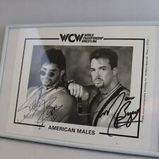 Original Autogramm American Males (Buff Bagwell & Scotty Riggs) Wrestling WCW