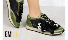 Olive Green Classy Tennis shoes!