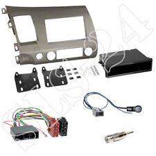HONDA Civic Hybrid Doppel-DIN Radioblende silber ISO Adapter Antenne US-Import