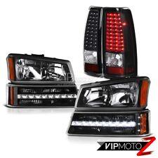 03 04 05 06 Chevy Silverado 2500HD Parking brake lights light Headlamps LED SMD