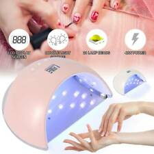 48 LED UV Nail Polish Dryer Lamp Gel Acrylic Curing Light Professional Manicure