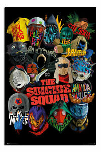 The Suicide Squad Icons Official Maxi Poster 61 x 91.5cm MX00011