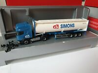 SCANIA  NR.834   GE SIMONS  -- 5081 CT Hilvarenbeek 40FT Container Werbemodell