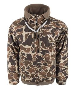 Drake Waterfowl MST Fleece Lined Full Zip 2.0 Old School Size 2X MPN - DW2102