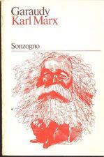 GARAUDY Roger - Karl Marx