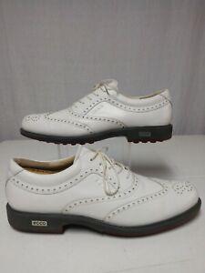 Men's Ecco Tour Hybrid Golf Shoes Wingtip Size EU 44 US 10-10.5