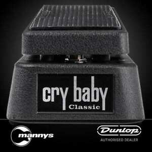 Dunlop Crybaby Classic Wah Pedal w/ Fasel Inductor & True Bypass Footswich