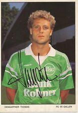 Thomas Hengartner   FC ST.Gallen  Fußball Autogrammkarte signiert 365763