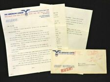 1966 CH. WHITE SOX BASEBALL PRESS RELEASE W/ENVELOPE J. LAMABE AND S. PAIGE