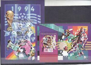 stamps LIBYA 1994 SC 1491 1492 WORLD CUP USA SOCCER  MNH #138
