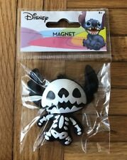 Disney Lilo And Stitch Skeleton Figural Refrigerator Magnet