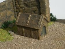 Dog or Wolf Kennel House Thomarillion Unpainted Resin Dwarven Forge D&D
