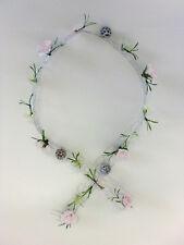 formano Tischdeko Drahtgeflecht Rose Kunstblume 6 cm x100 cm  627971 Kunststoff