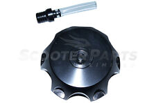 CNC Fuel Gas Tank Cap Black For 100cc 110cc Kawasaki KX100 KLX110 Dirt Pit Bike
