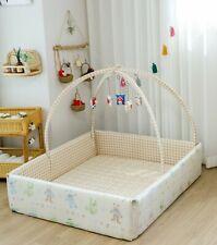 Baby bumper bed Luvbebe(BROWN)